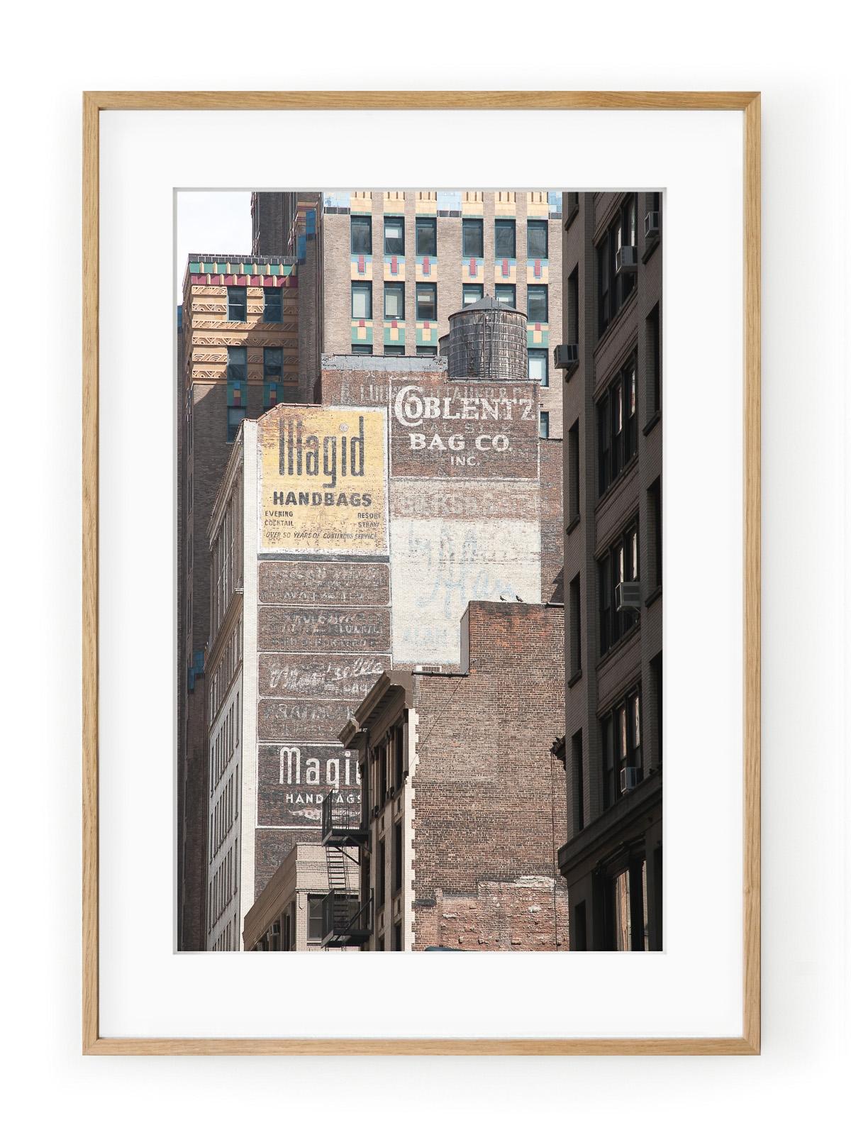 Tablou Manhattan Brick Walls Oak