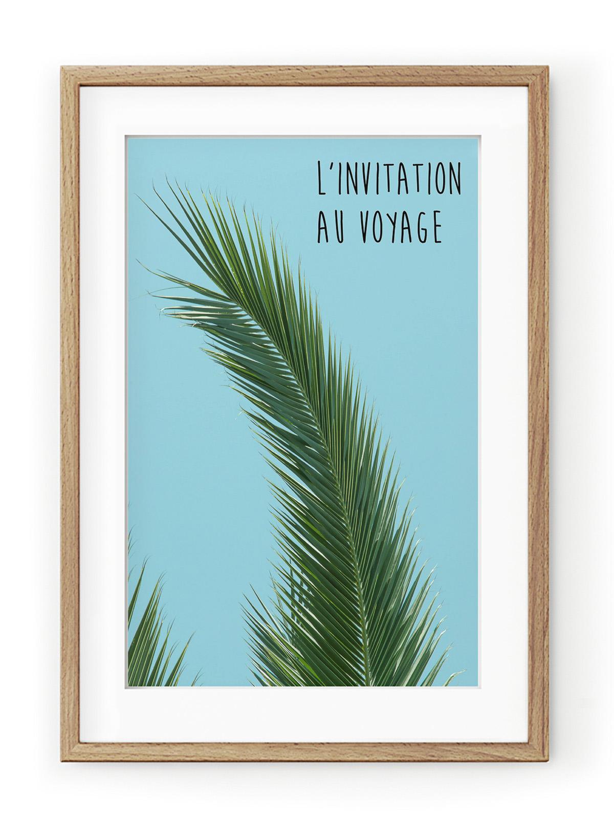 Tablou L'invitation au Voyage Oak