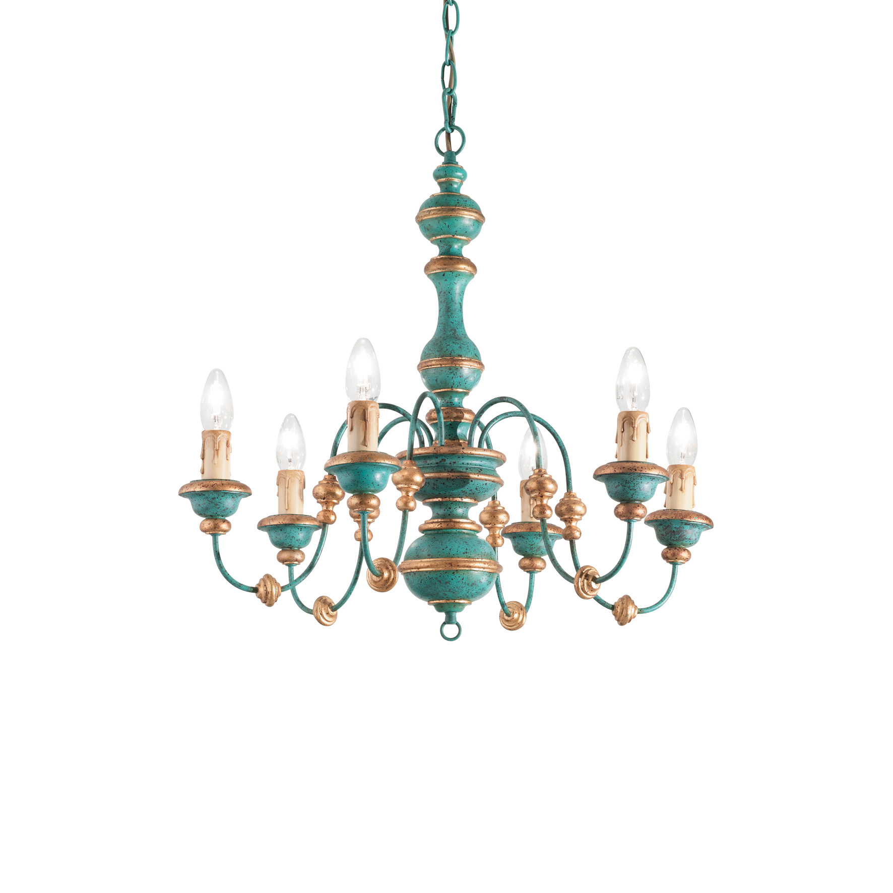 Candelabru Pisa SP6 Blue imagine