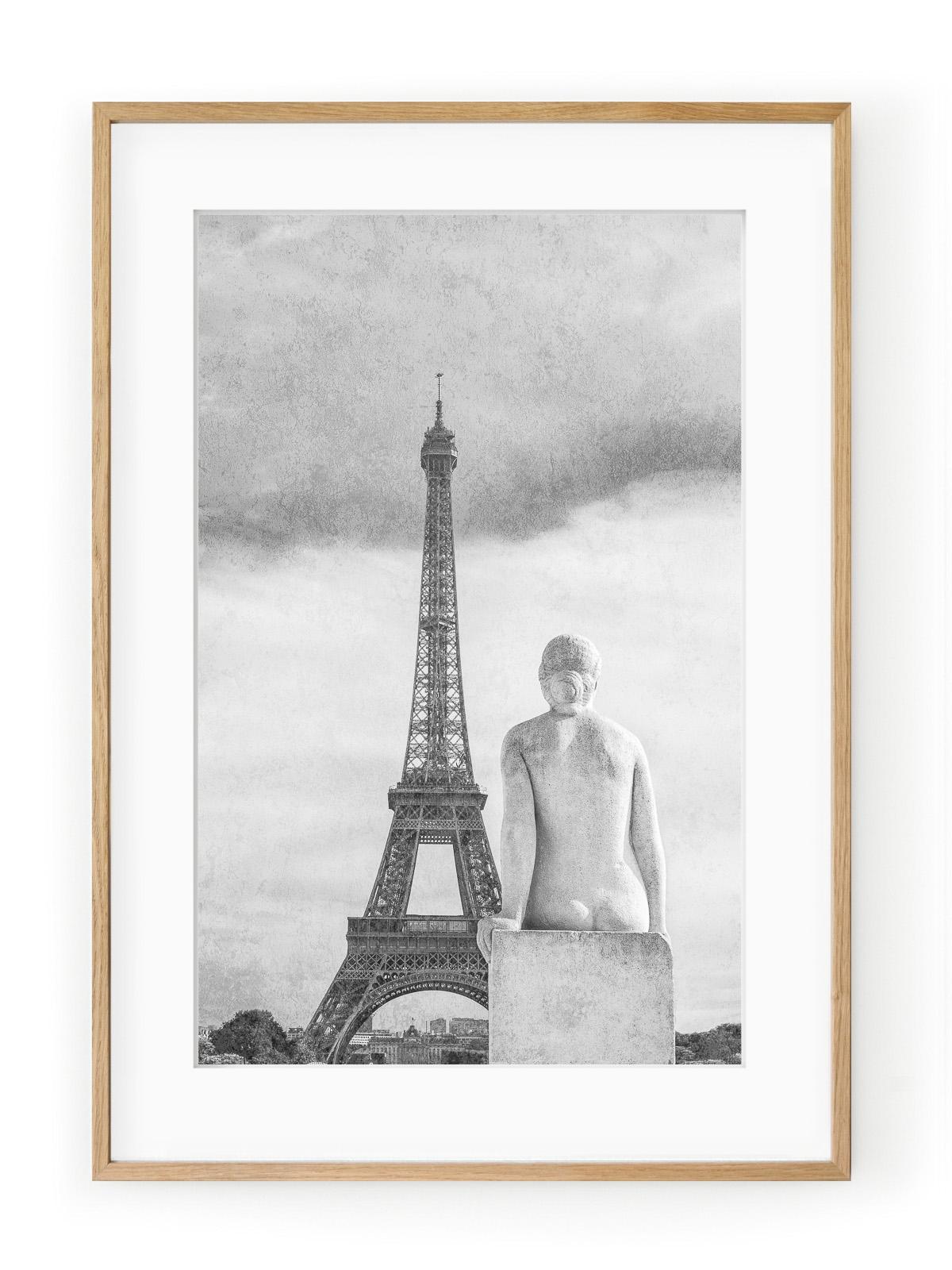 Tablou Sculpture Parisienne La femme Oak