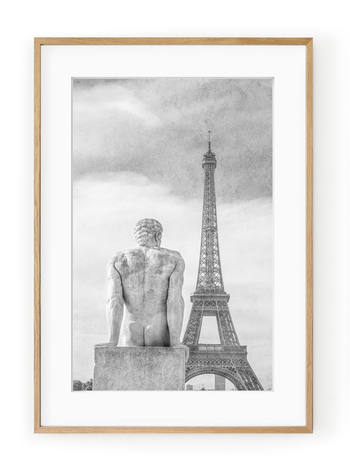 Tablou Sculpture Parisienne L'homme Oak