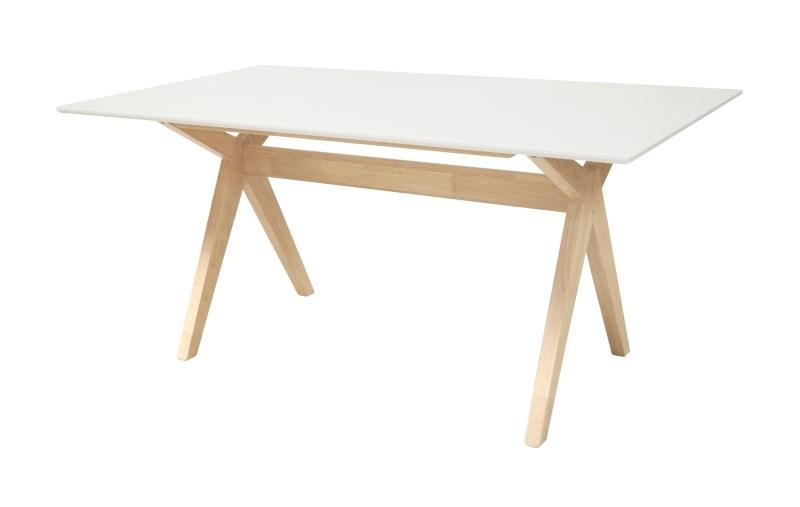 Masa Scissor White/Natur L160xl90xh74 cm