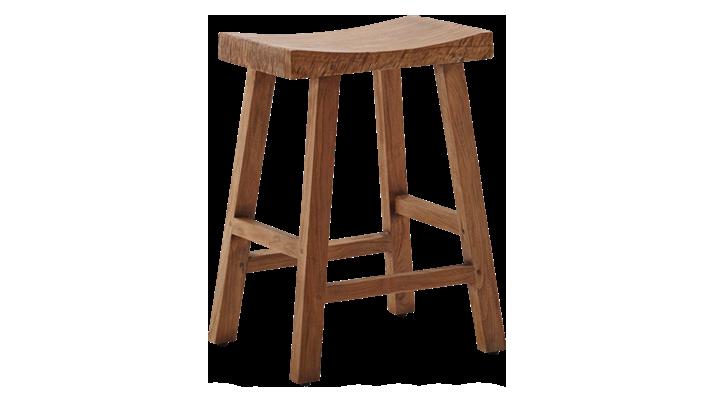 Scaun din lemn de tec Charles Big