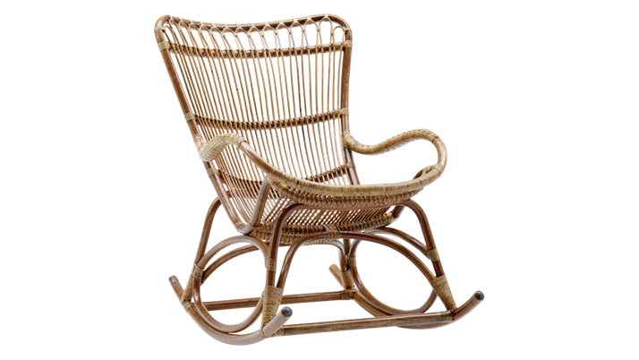 Balansoar din rattan Monet Rocking Antique