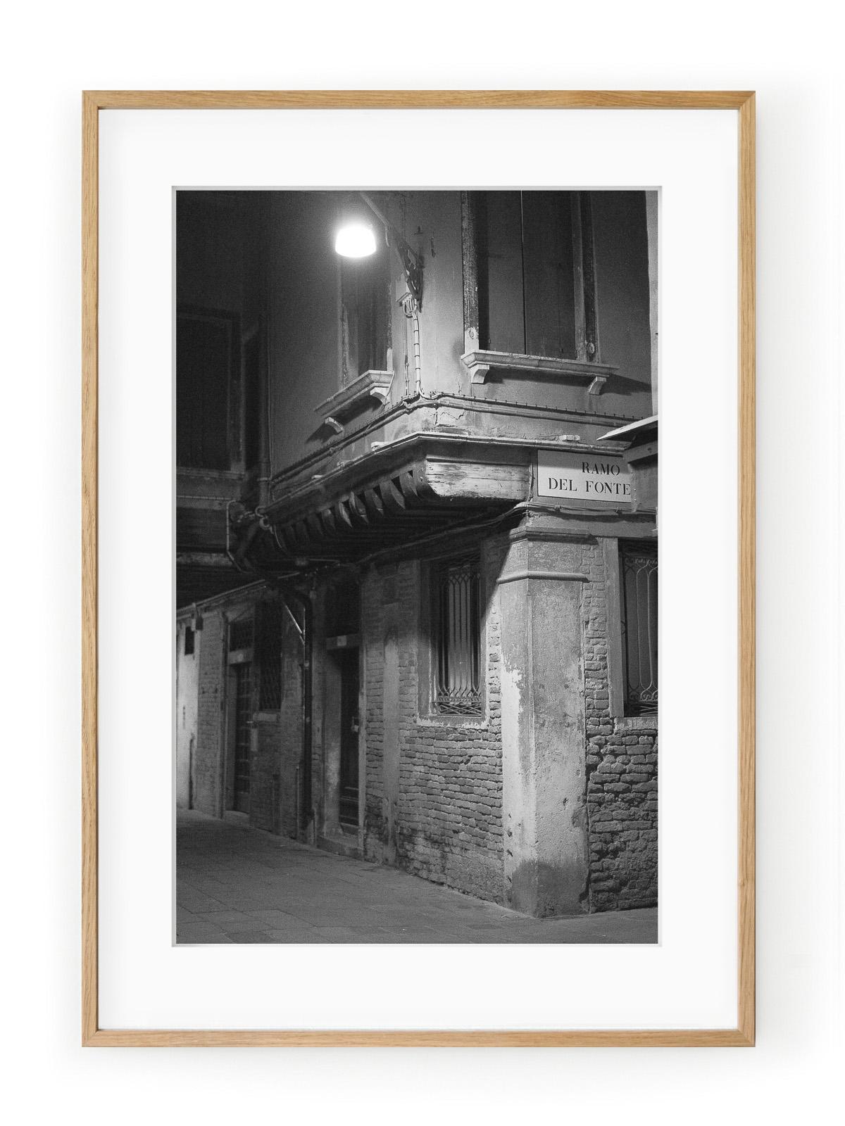 Tablou Venezia di Notte Ramo del Fonte Oak