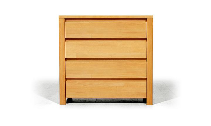 Dulap cu sertare din lemn masiv de fag Vinci 800 4S