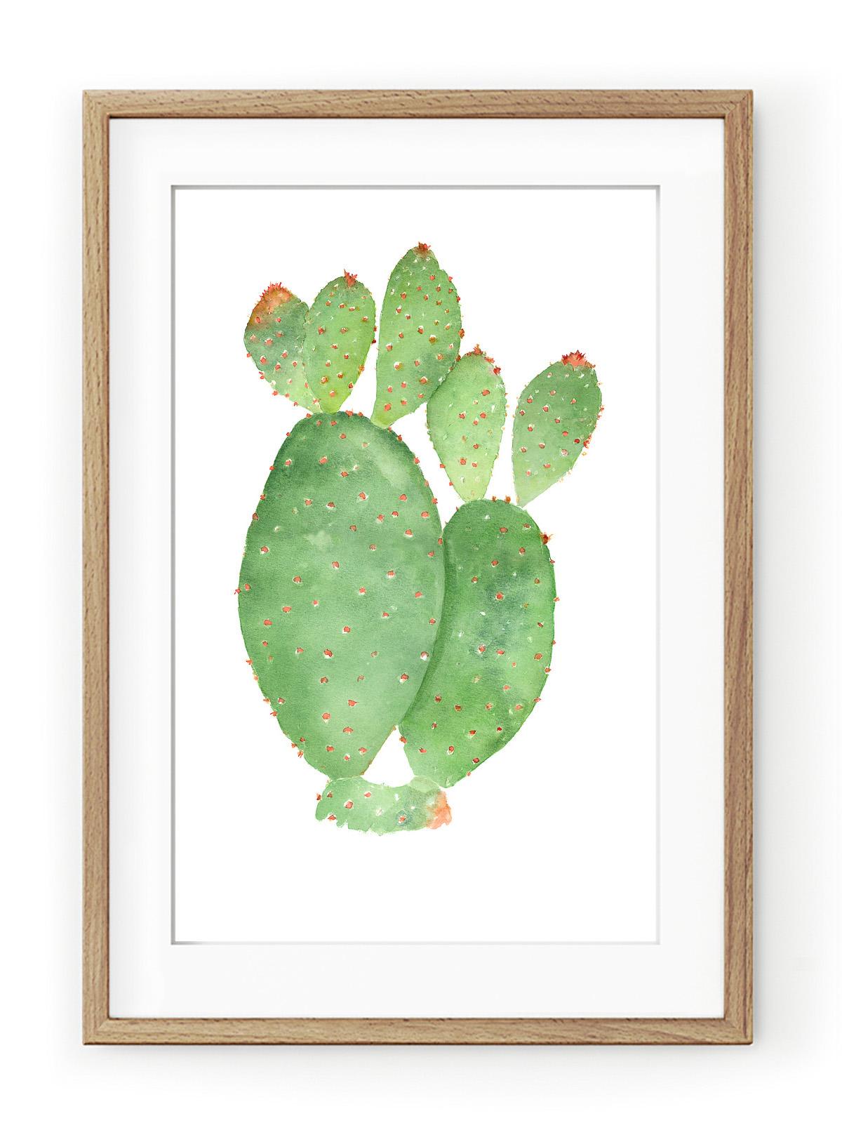 Tablou Cacti Oak