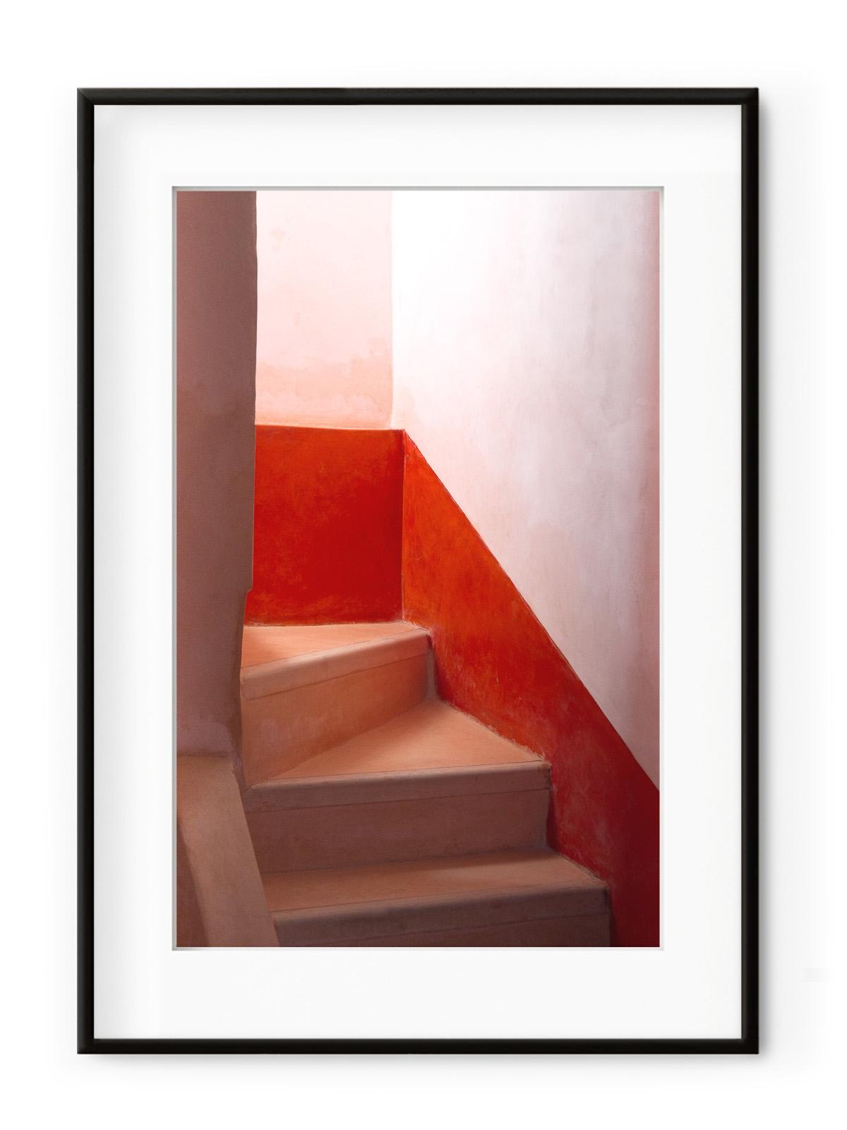 Tablou Morrocan Stairway Aluminium Noir