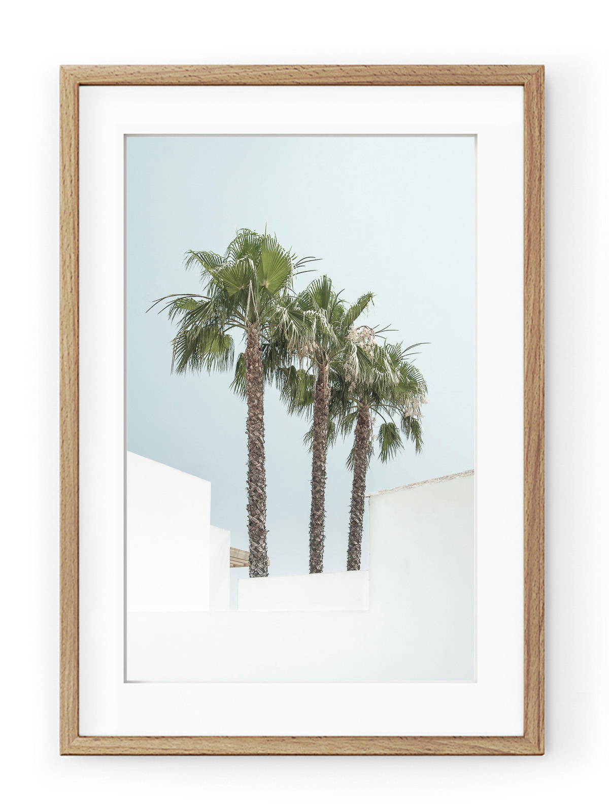 Tablou Minimal Palm Trees Oak