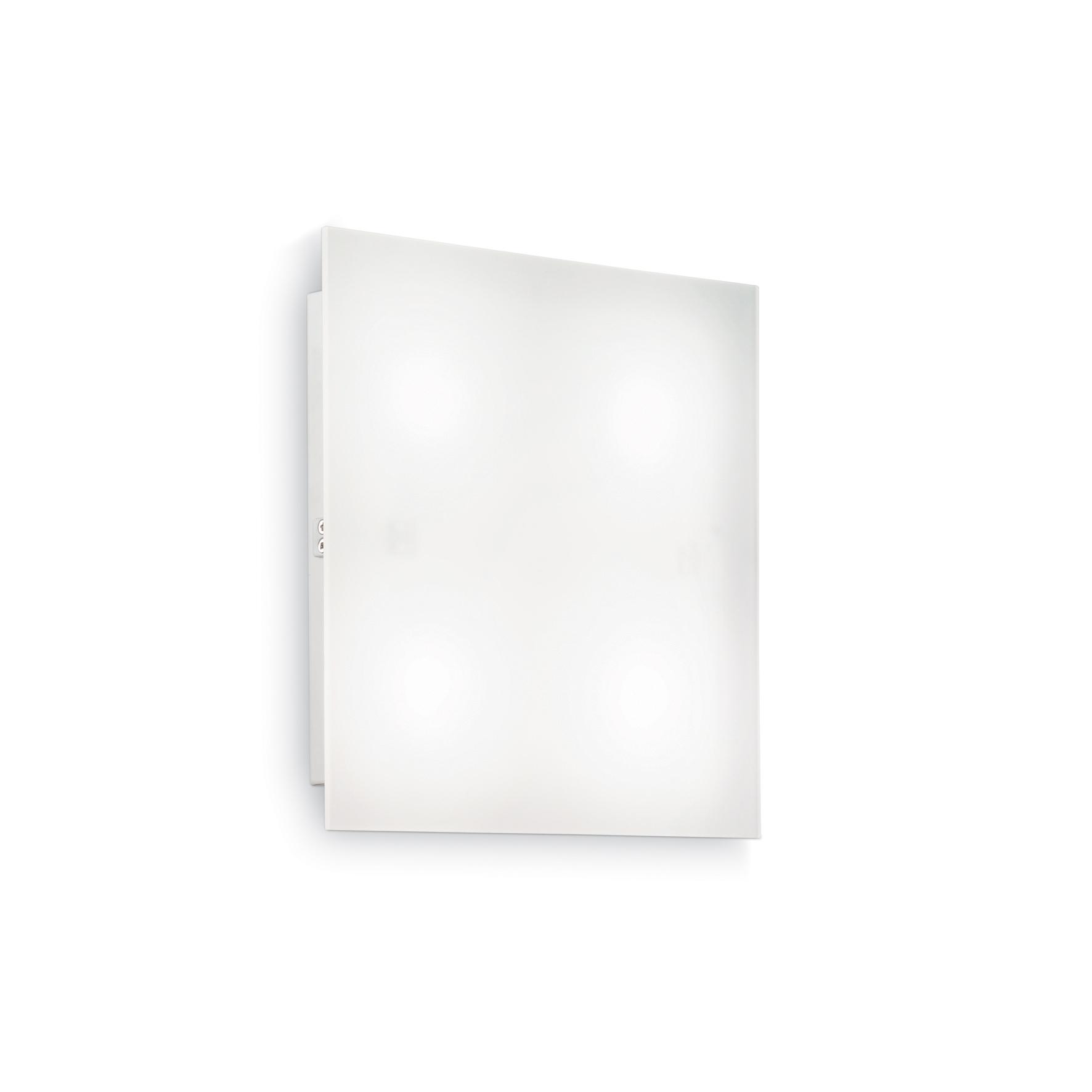 Plafoniera Flat PL4 D30 White imagine