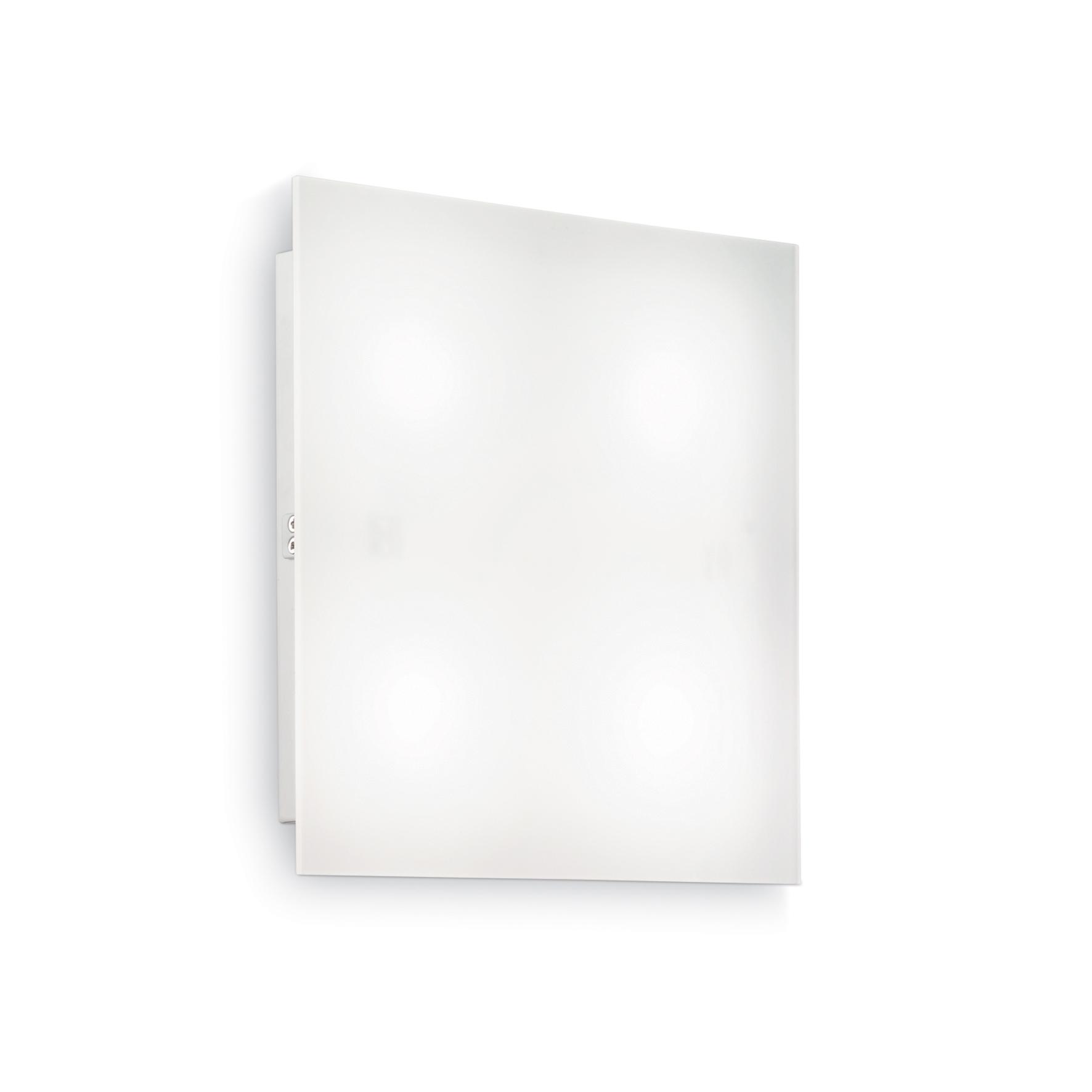 Plafoniera Flat PL4 D40 White
