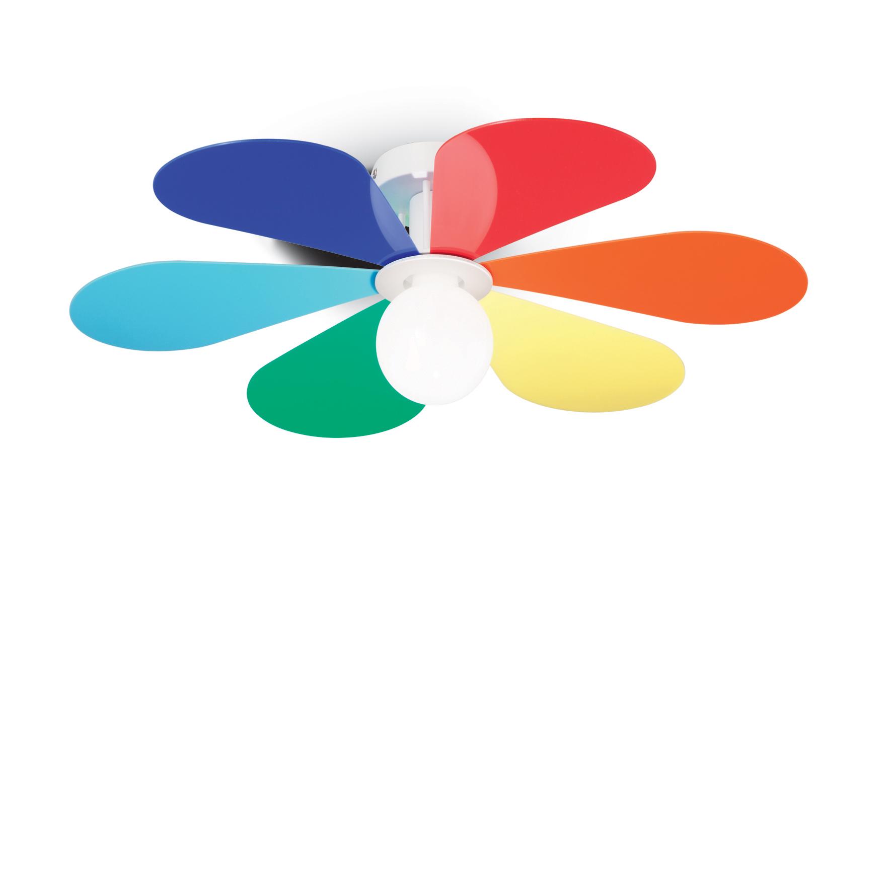 Plafoniera Flower PL1 D50 Color