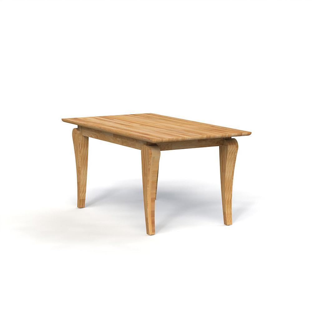 Masa din lemn masiv de stejar natural Bona, L160xl90xh77 cm