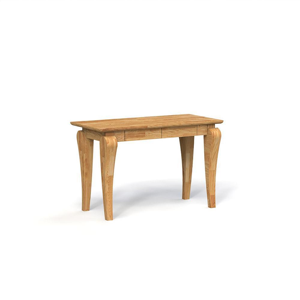 Consola din lemn masiv de stejar Bona, L120xl50xh77 cm