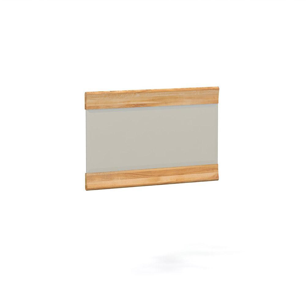 Oglinda decorativa din lemn masiv de stejar natural Bona, L70xl70 cm