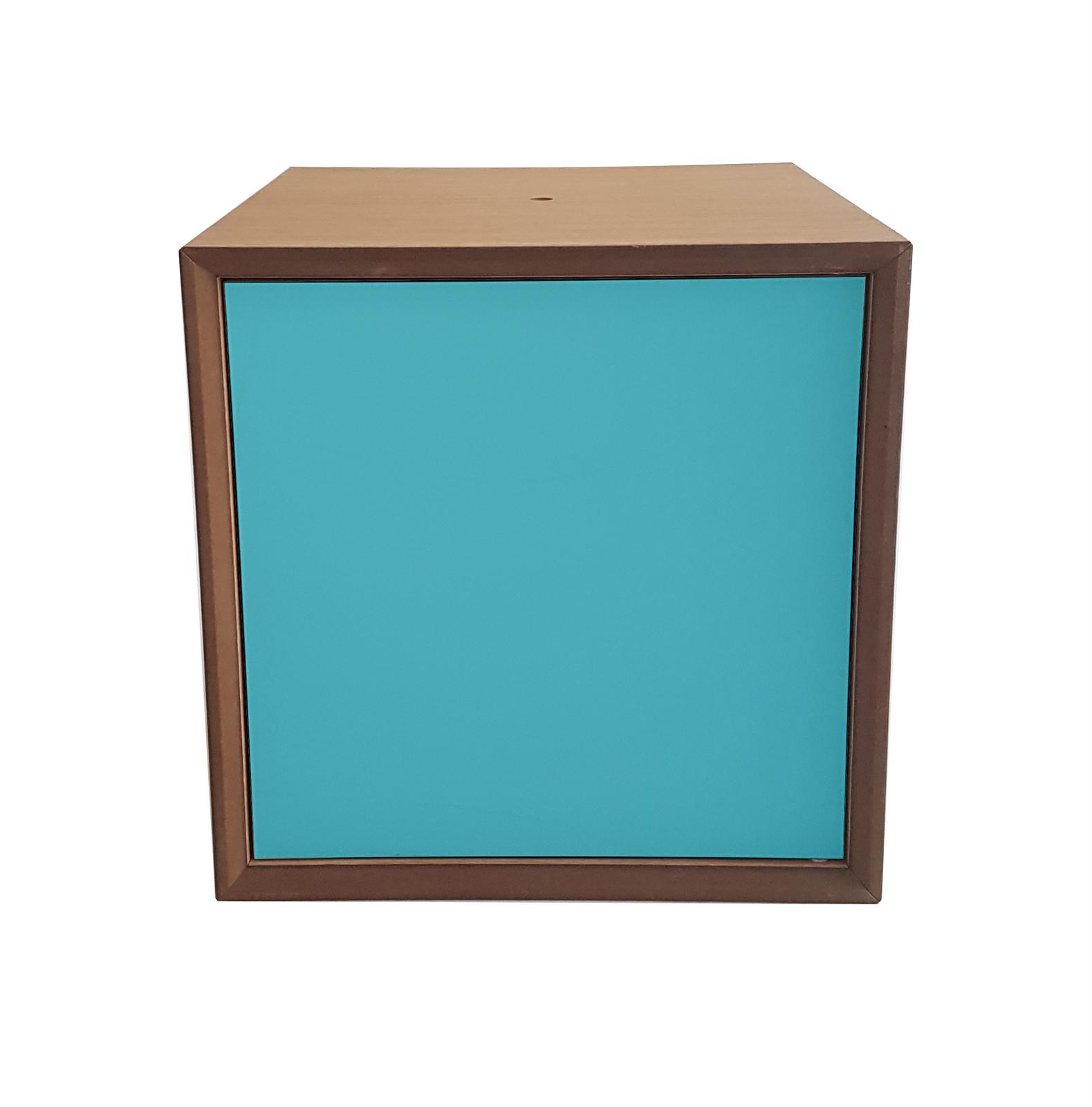 Dulap modular Pixel Dark Turquoise, l40xA40xH40 cm
