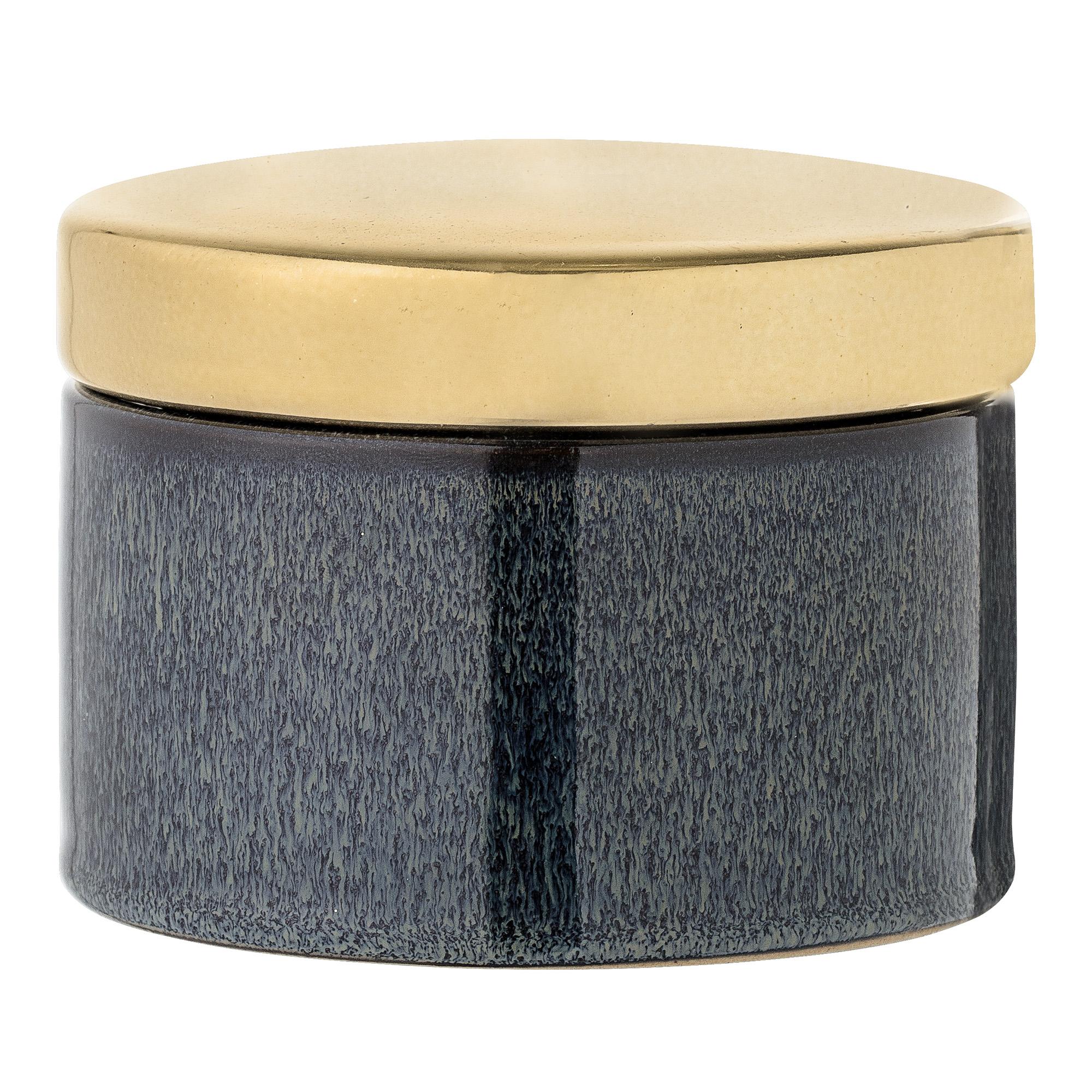 Recipient pentru depozitare Jar Blue O11xH8 cm