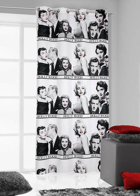 Draperie Merilyn 140 x 250 cm 1 bucata Alb
