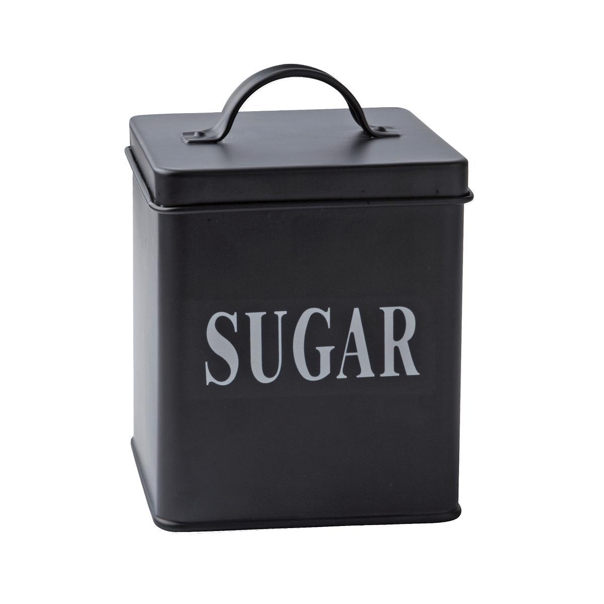 Cutie metalica Sugar, Black, 1,5 L, KJ, 232111