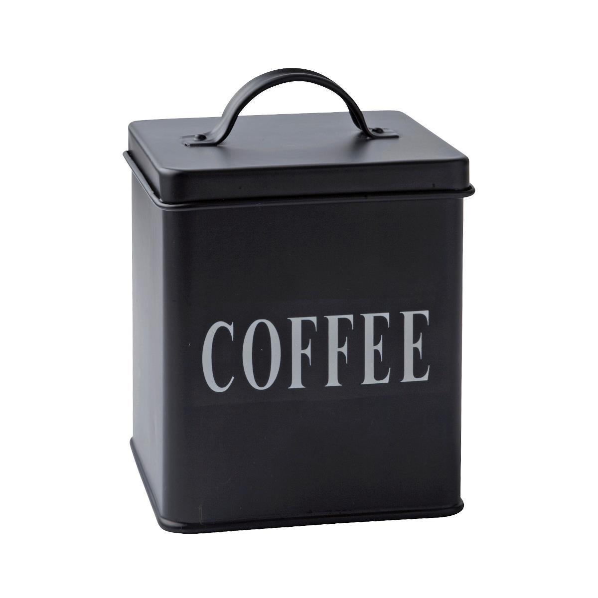 Cutie metalica Coffee, Black, 1,5 L, KJ, 232113 imagine