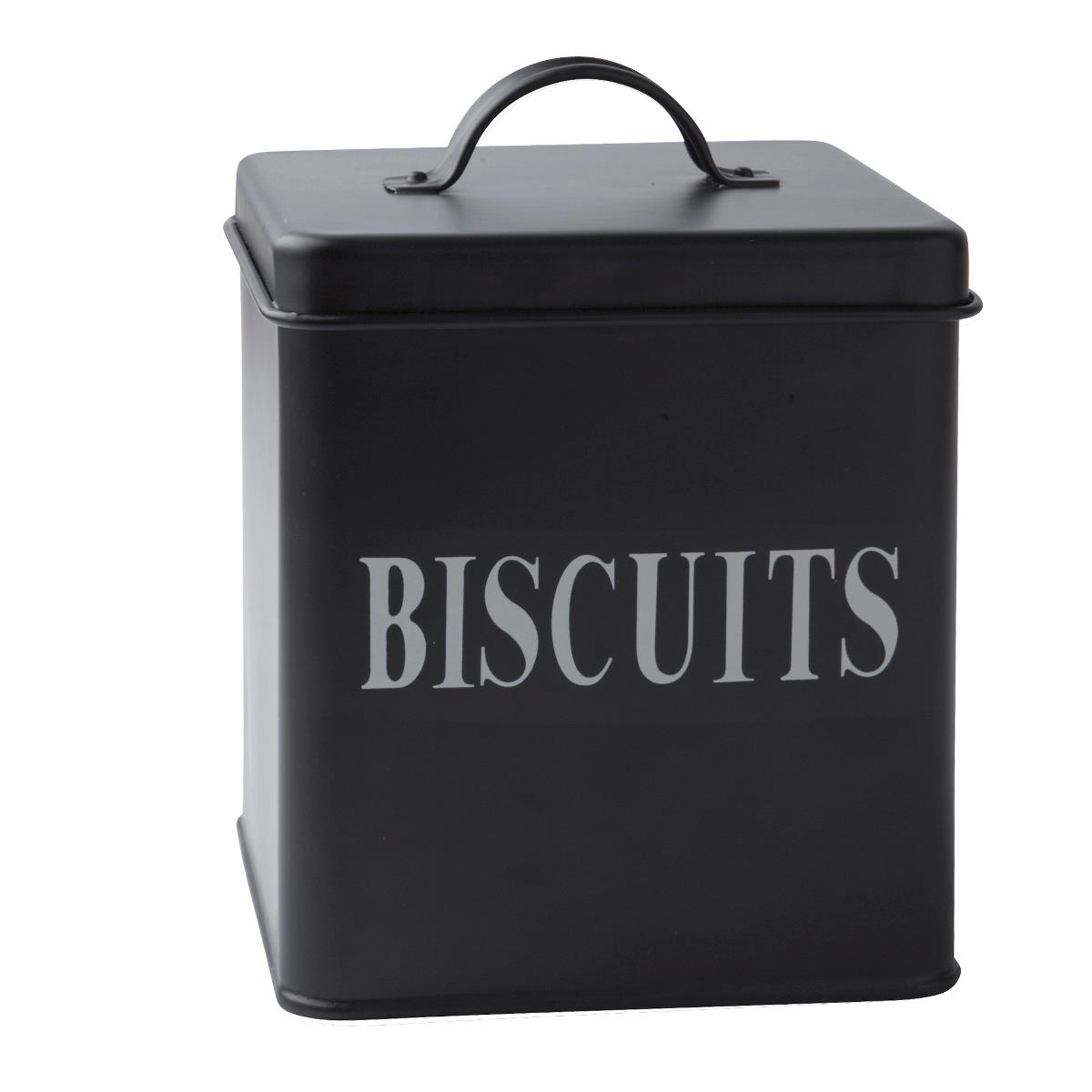 Cutie metalica Biscuits, Black, 2,5 L, KJ, 232114