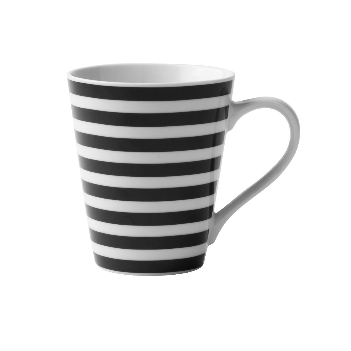 Cana KJ, Black / White, 300 ml, 232201 poza