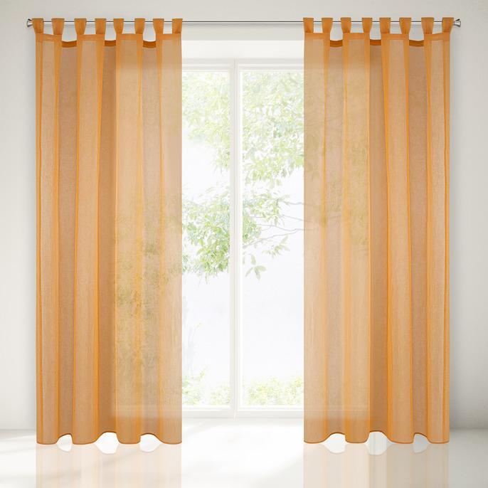 Perdea Eva 140X250 Orange 1 buc