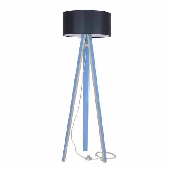 Lampadar Lamp Wanda Black Blue