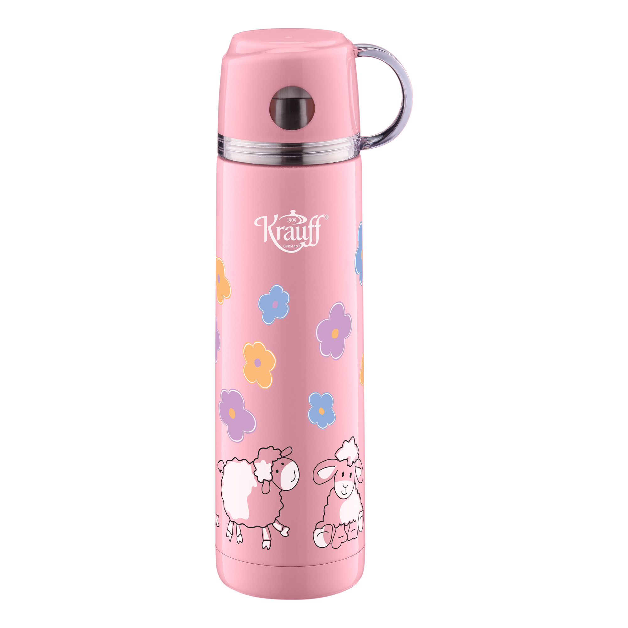 Termos pentru copii Pink, 350 ml, Teide