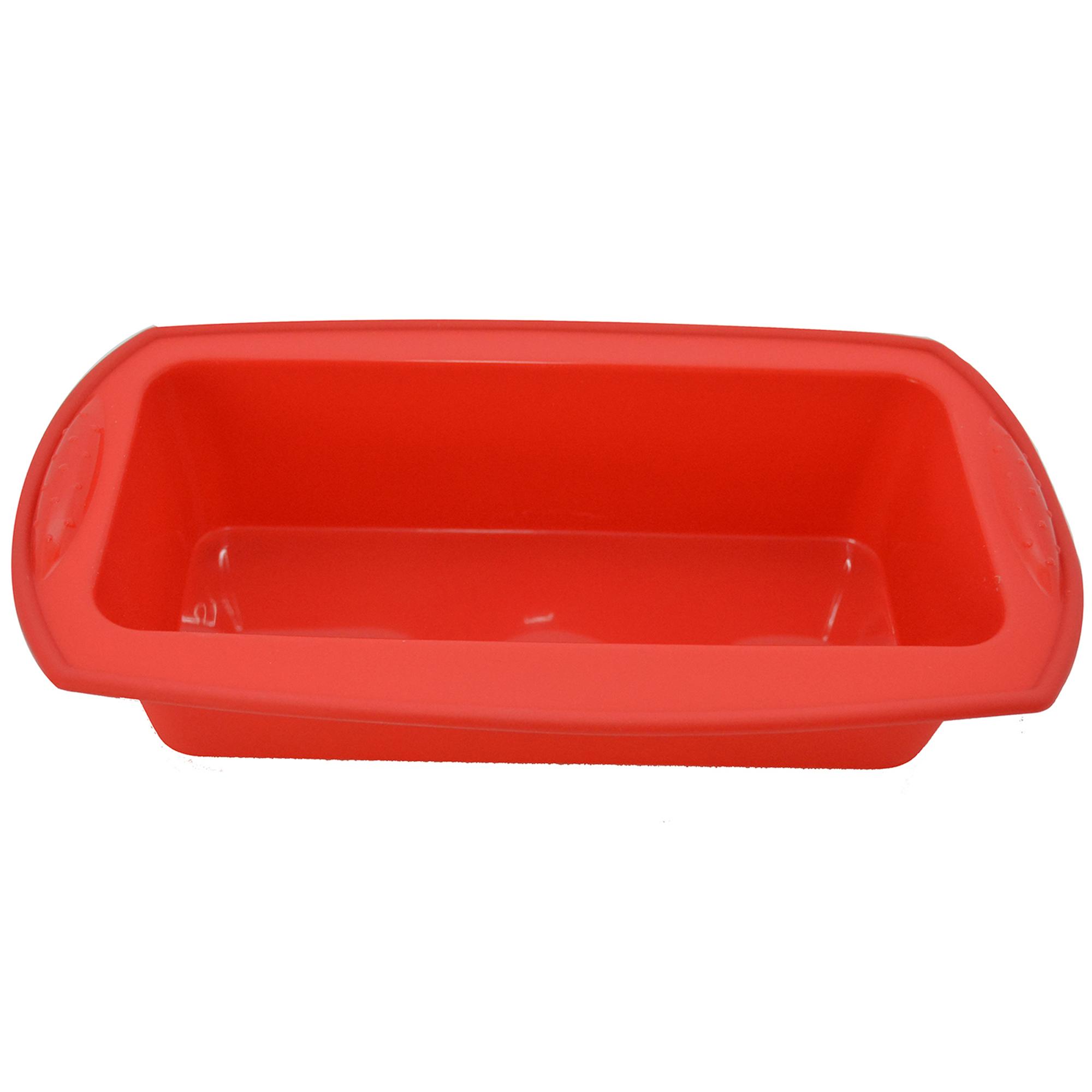 Tava de silicon 27,5 x 14,5 cm, Red, Dainty