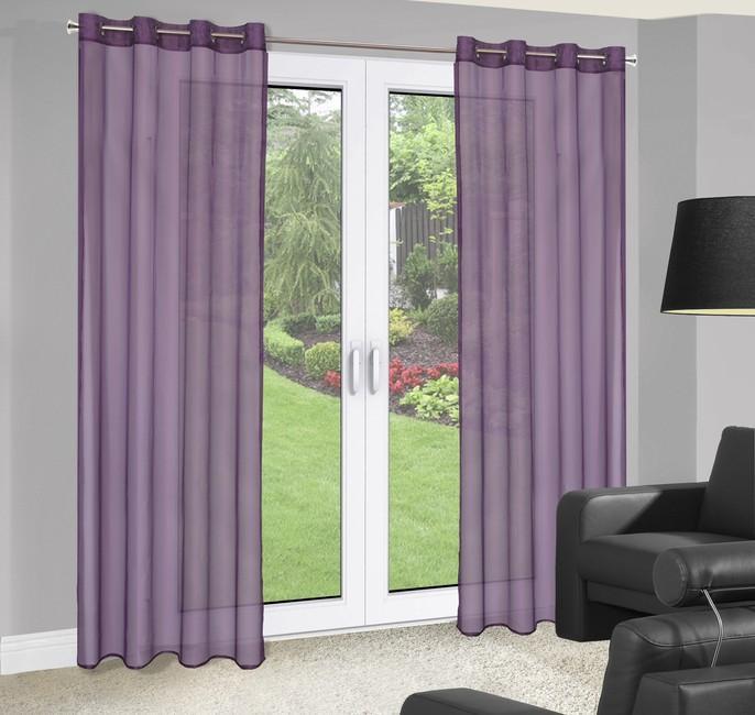 Perdea Birsel 140X250 Violet 1 buc