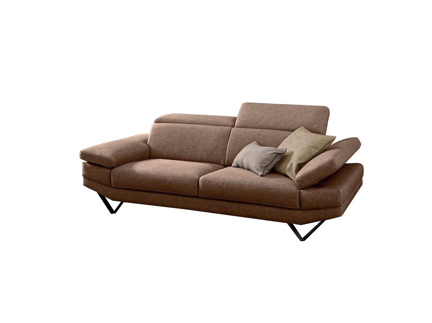 Canapea fixa 3 locuri tapitata cu texil Howard, l230xA105xH78 cm