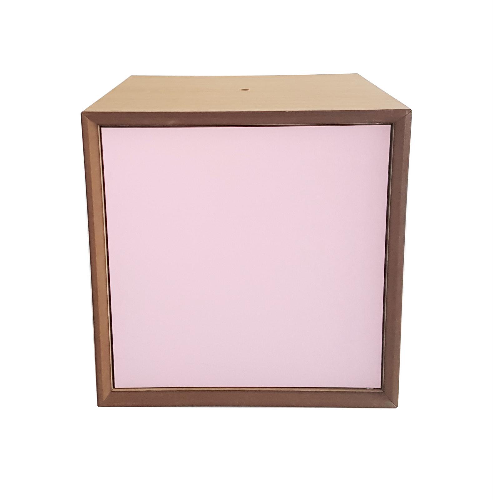 Dulap modular Pixel Dusky Pink l40xA40xH40 cm