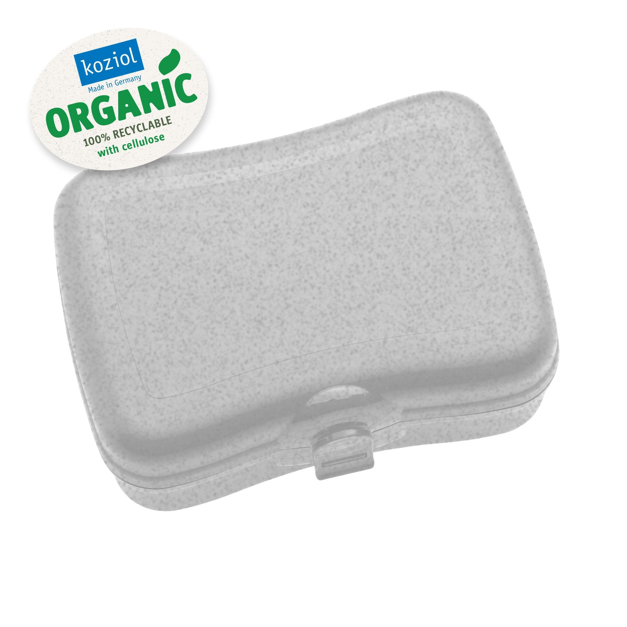 Cutie pentru pranz, 100% Reciclabil, Basic Organic Gri, L16,8xl12,2xH6,6 cm poza