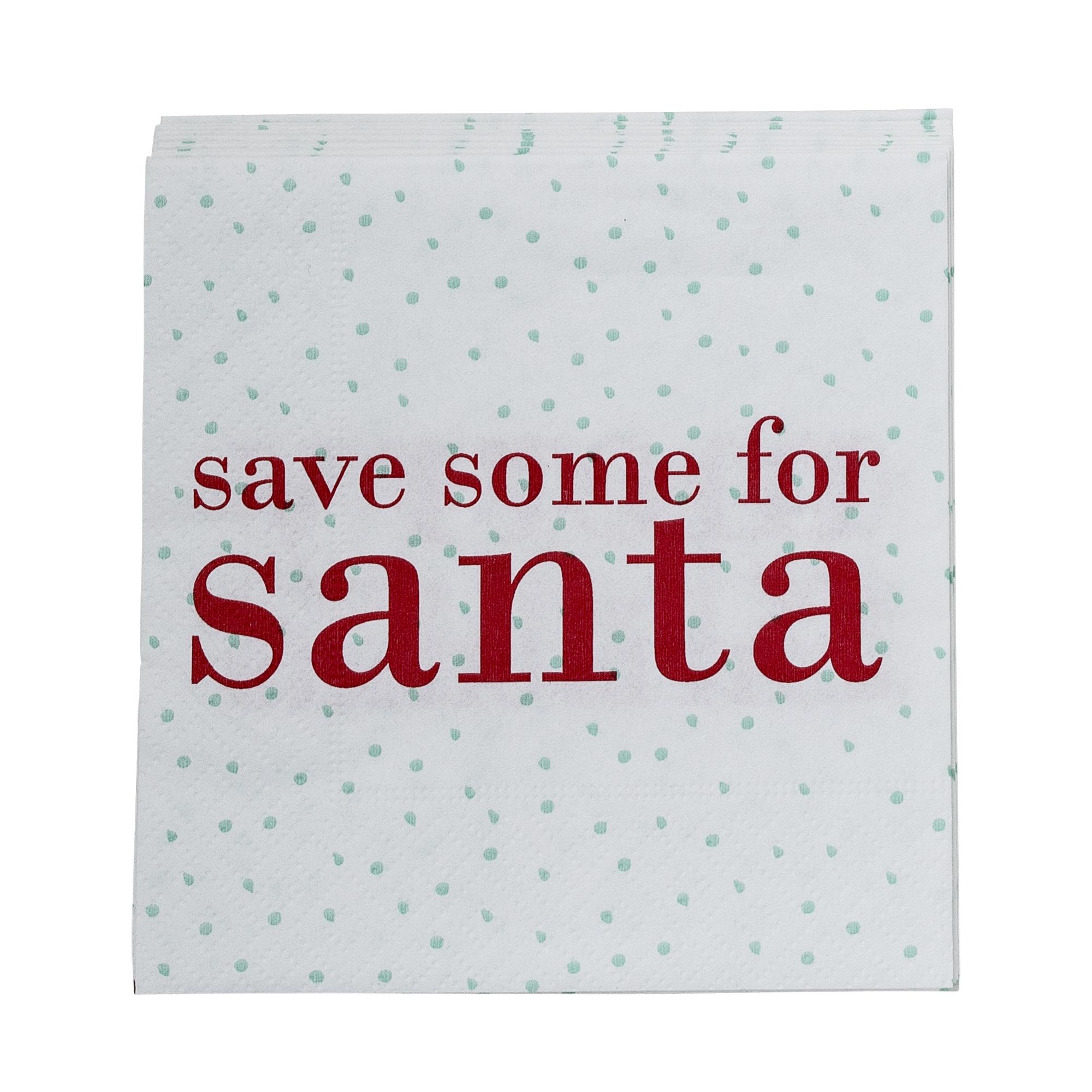Servetele de hartie Merry Christmas, White/Red