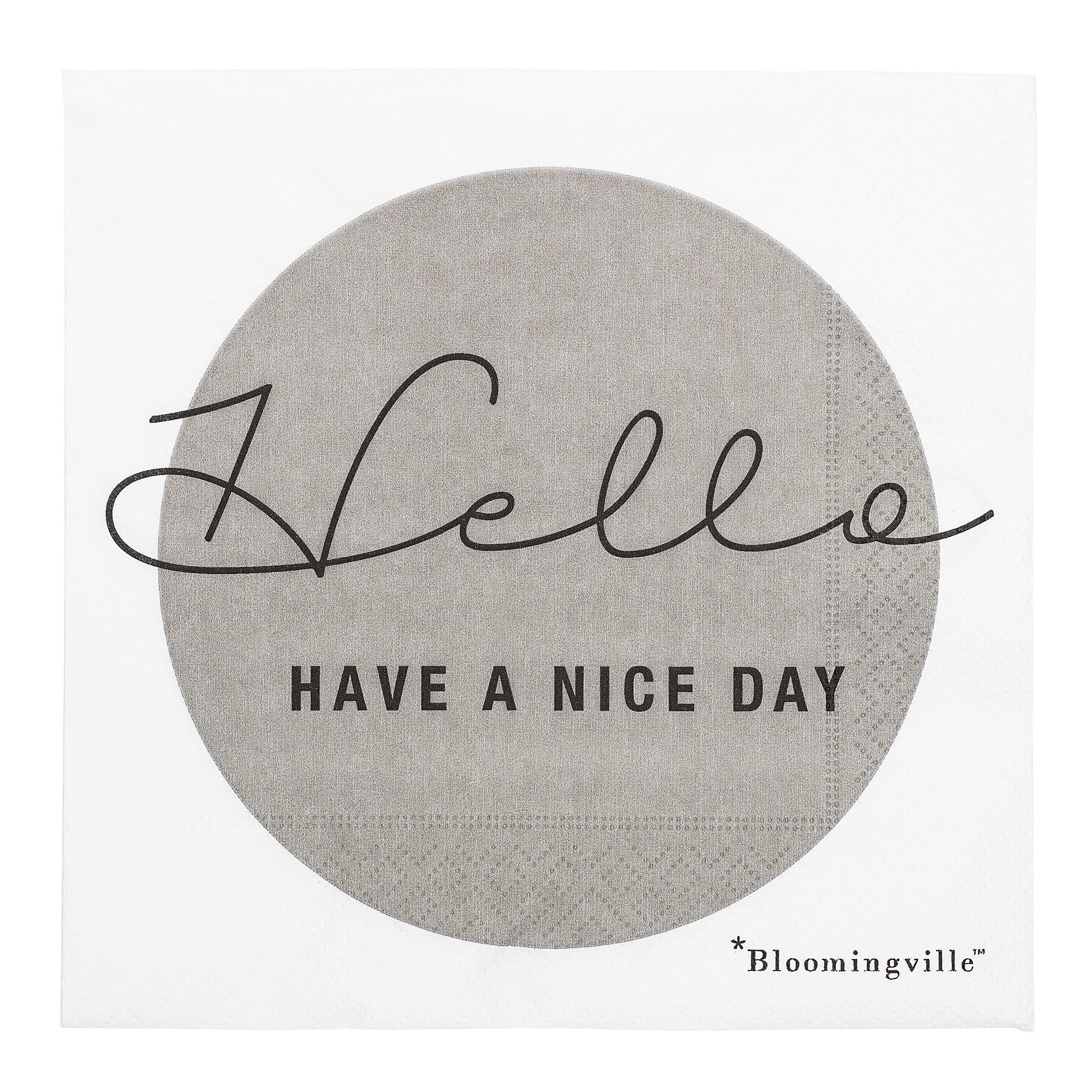 Servetele de hartie 'Hello', Have A Nice Day imagine