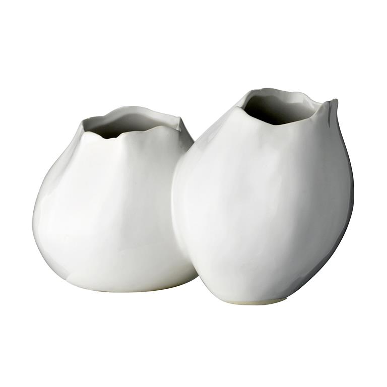 Vaza Alba, Ceramica, l12xL21xH13 cm