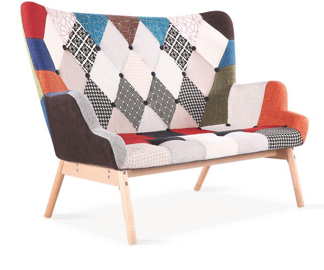 Canapea fixa Maxime Multicolour