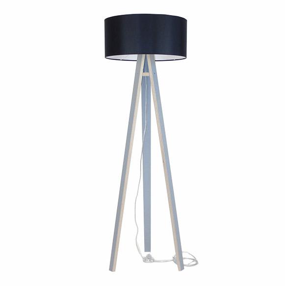 Lampadar Lamp Wanda Black Grey