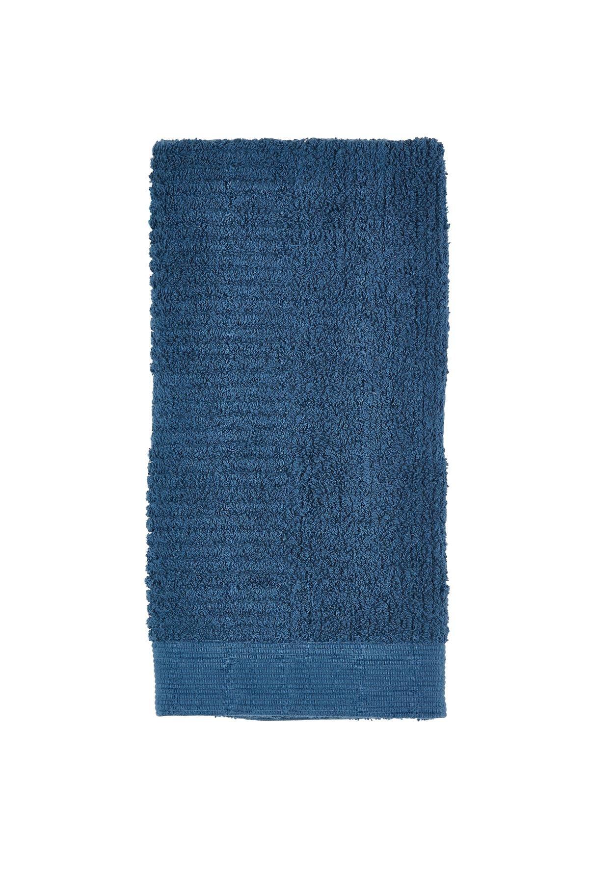 Prosop baie din bumbac Classic, Azure Blue, Zone-50 x 70 cm imagine