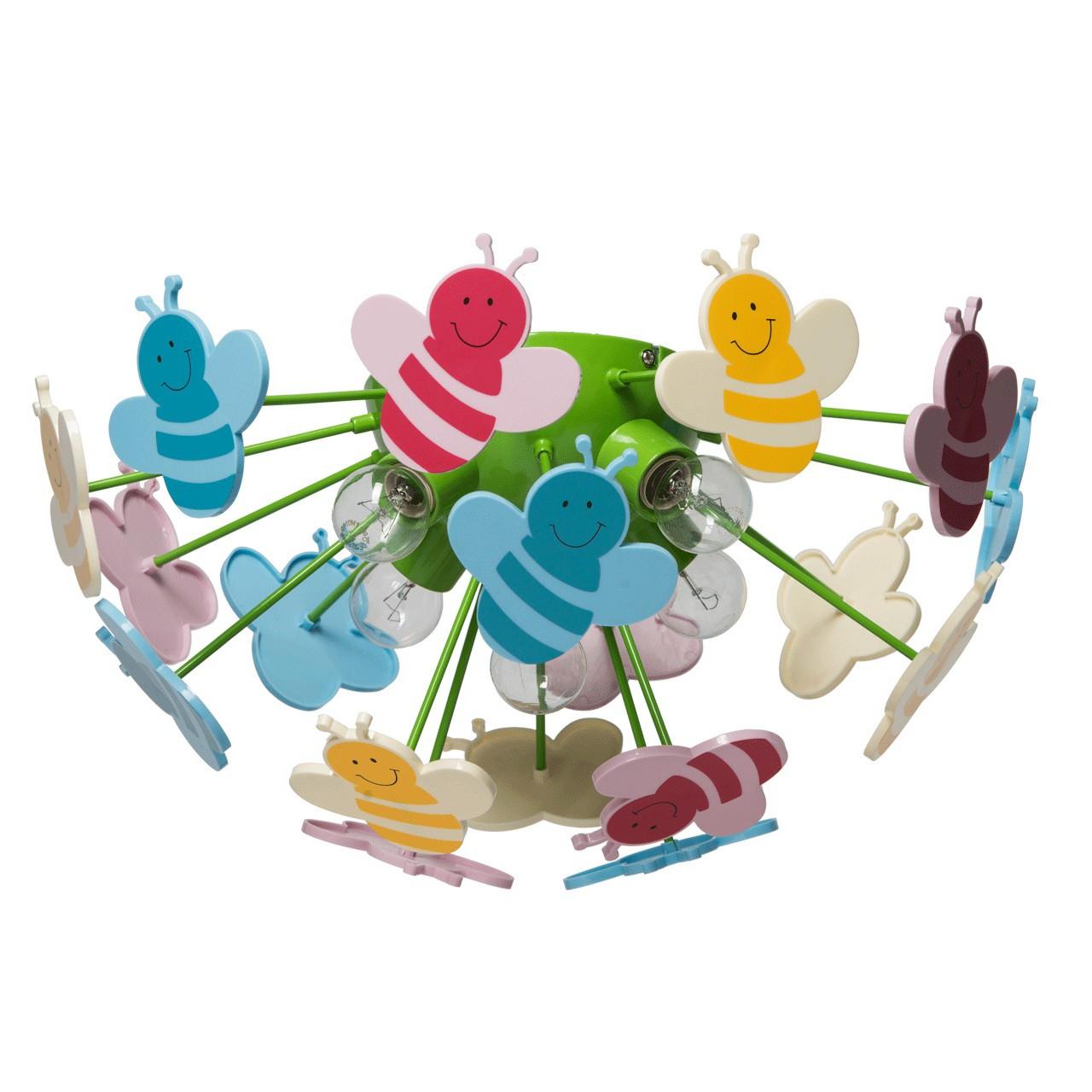 Plafoniera Kinder Multicolor 365015105
