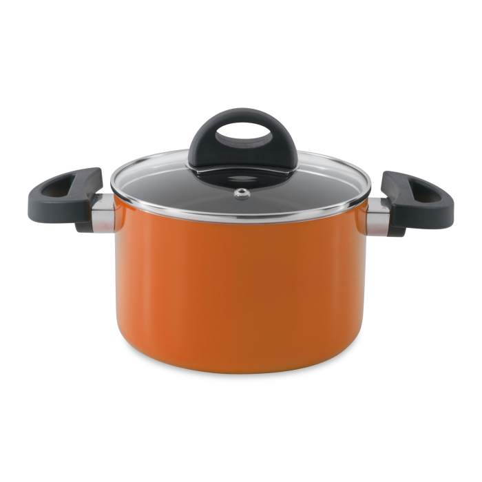 Oala cu capac Orange 2 L Eclipse Line