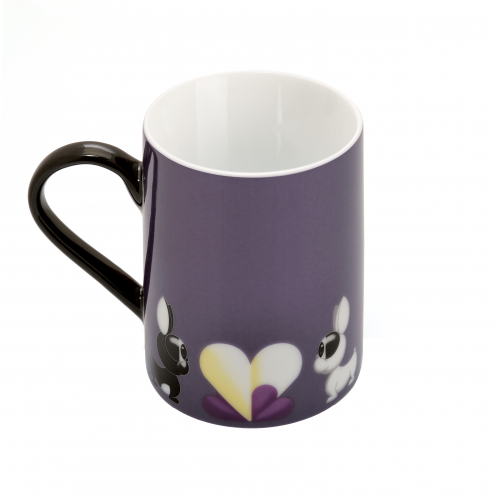 Set 2 cani coffe Purple 300 ml Lover by Lover