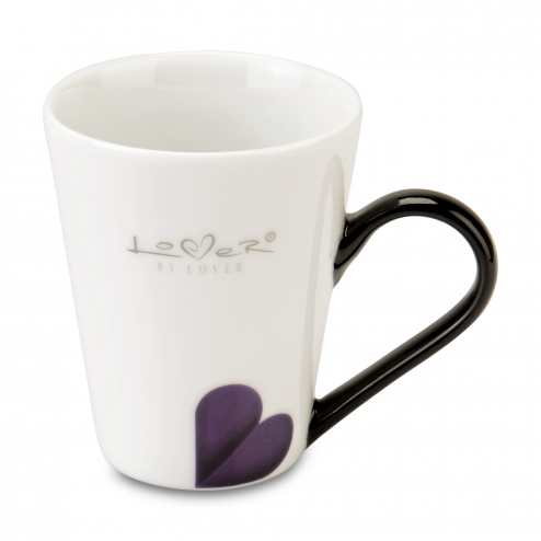 Set 2 cani coffe, White, 250 ml, Lover by Lover