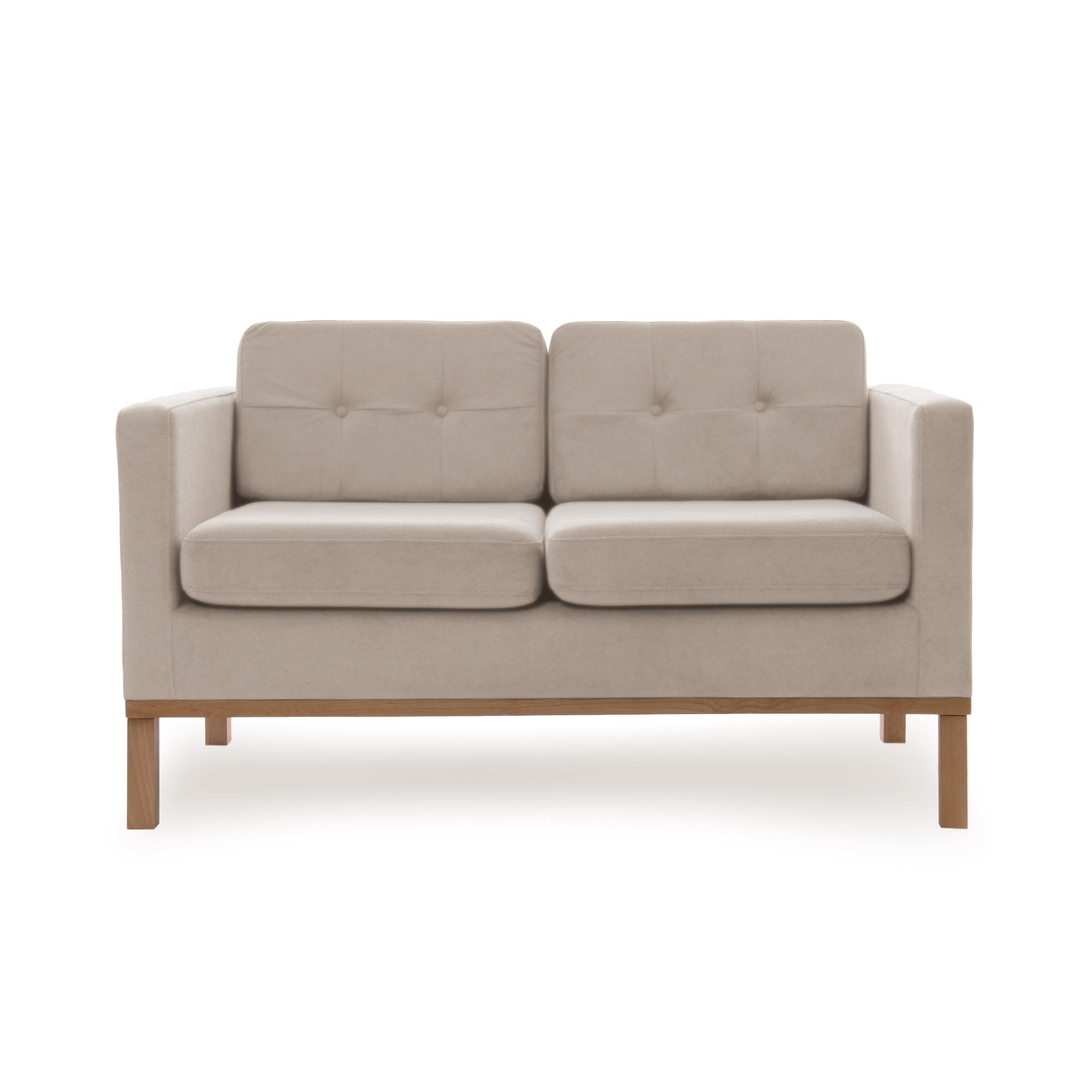 Canapea Fixa 2 locuri Jonan Beige/Natural