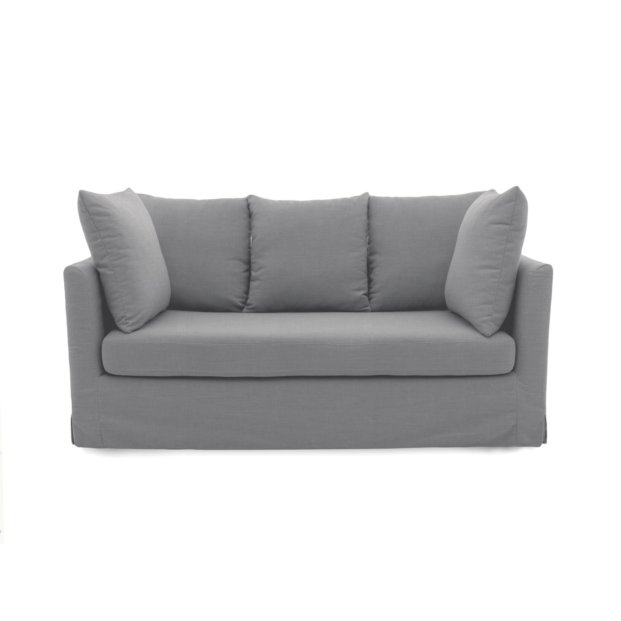 Canapea Fixa 3 locuri Coraly Light Grey