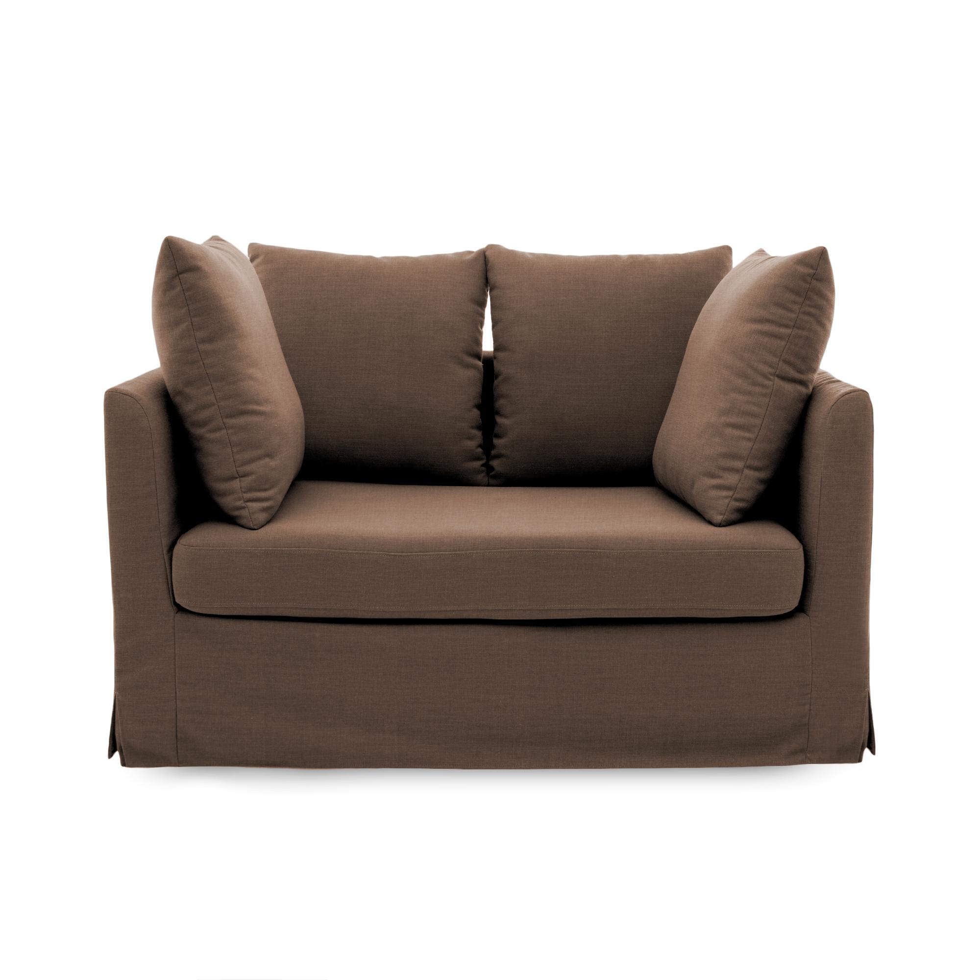 Canapea Fixa 2 locuri Coraly Brown
