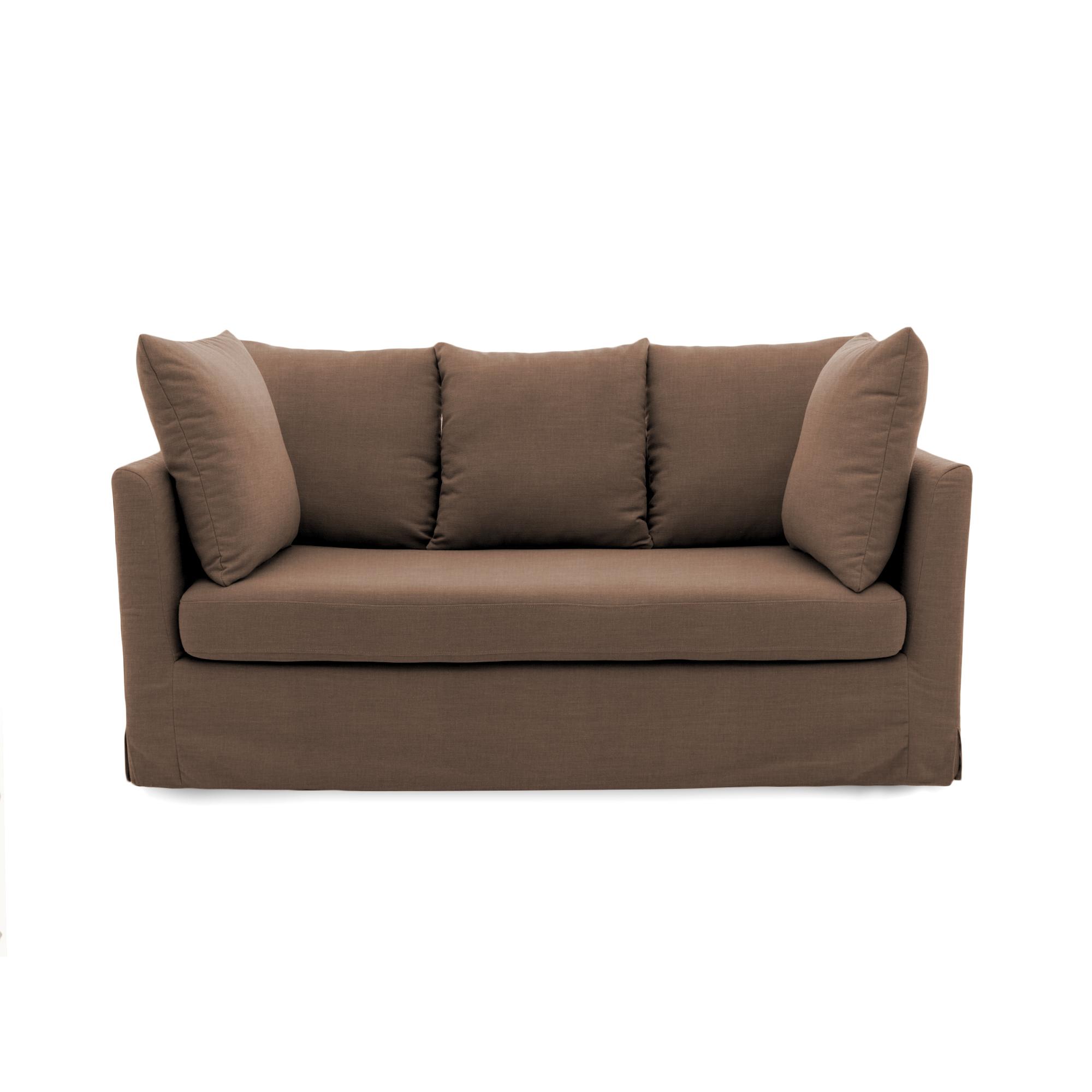 Canapea Fixa 3 locuri Coraly Brown