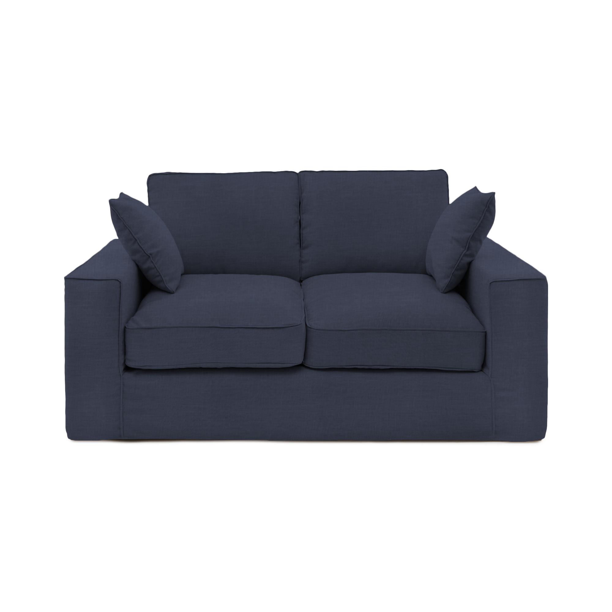 Canapea Fixa 2 locuri Jane Marine Blue