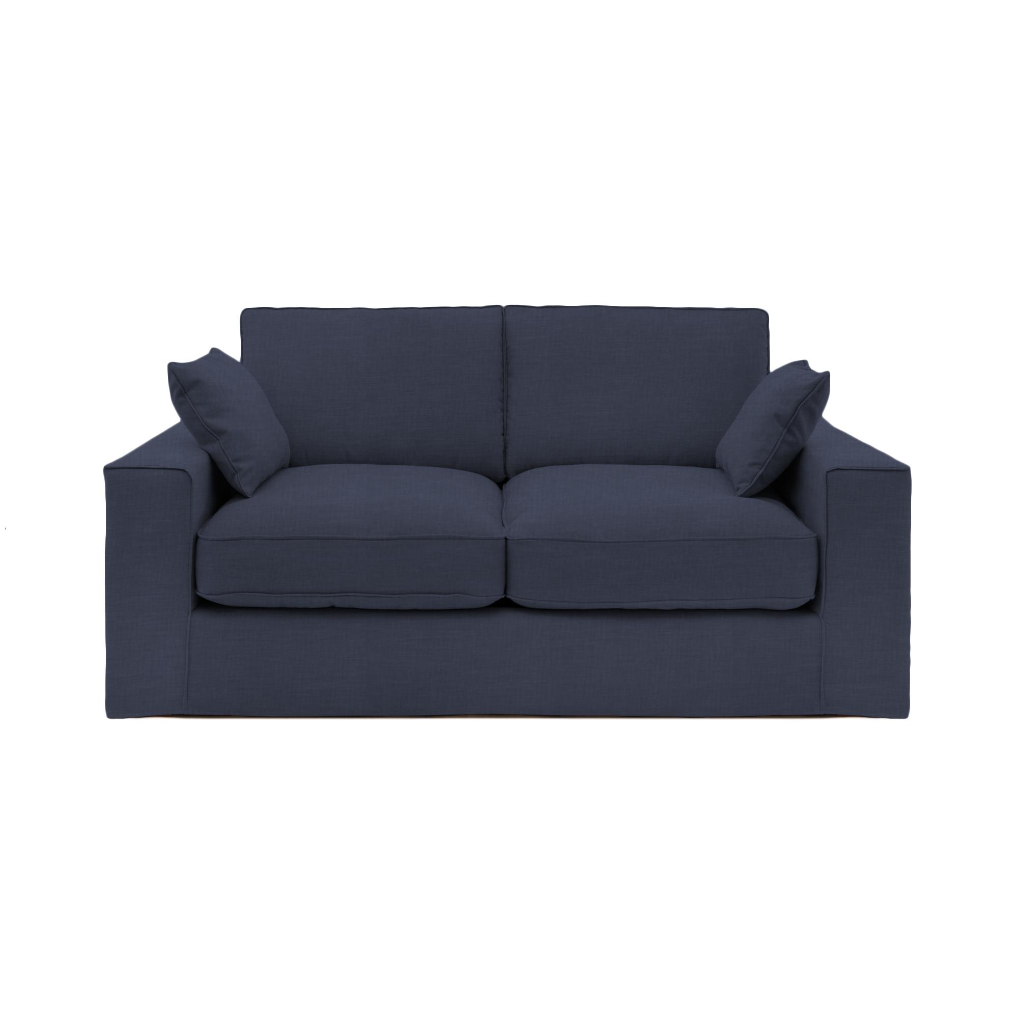 Canapea Fixa 3 locuri Jane Marine Bleu